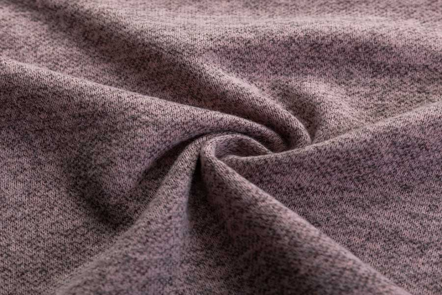 Husky Fleece/velvet  with spandex and rayon
