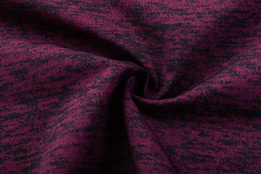 Soft Shell bonding draw textured yarn or dty polar fleece with digital textile printing